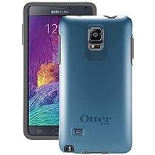 Otterbox Samsung Galaxy Note 4 Symmetry Series Case - Retail Packaging - Blue Print Ii