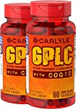 Carlyle GPLC and CoQ10 120 Capsules, 2 Bottles
