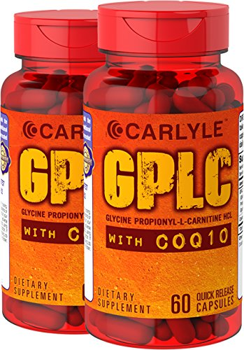 Carlyle GPLC and CoQ10 120 Capsules, 2 Bottles by Carlyle