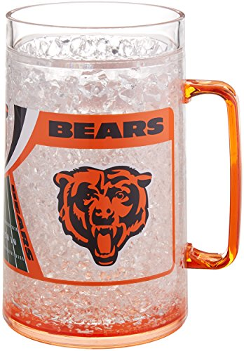 NFL Chicago Bears 38oz Crystal Freezer Monster Mug