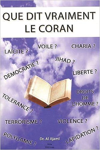 En ligne téléchargement gratuit Que dit vraiment le Coran epub, pdf