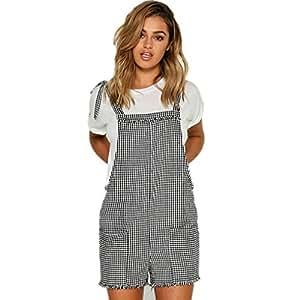 da779b9bdca7 Amazon.com  Litetao Women Girl Short Romper Straps Work Jumpsuits ...