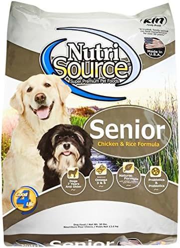 Dog Food: NutriSource Senior