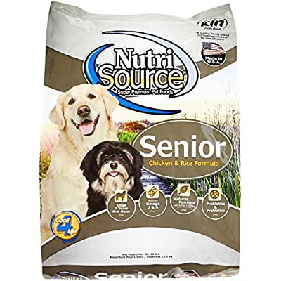Tuffy'S Pet Food Nutrisource Senior Dog Chicken & Rice Food