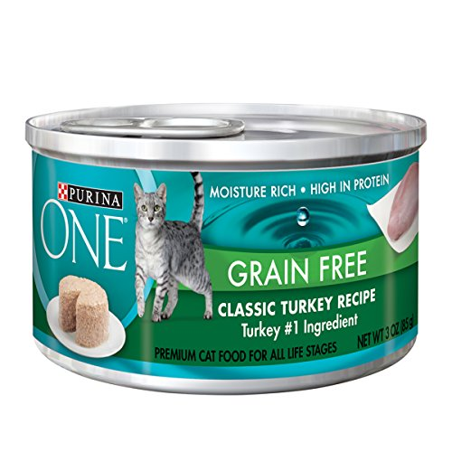 Classic Turkey (Purina ONE Grain Free Premium Pate Classic Turkey Recipe Wet Cat Food - (24) 3 oz. Cans)