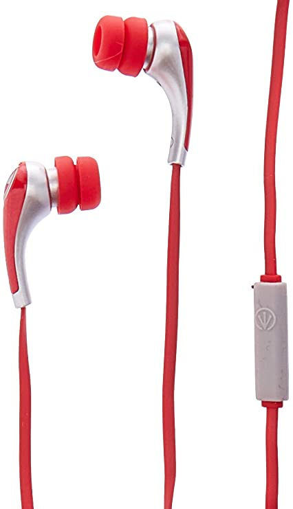 6bfd481becf iFrogz Audio - Ear Pollution IFPZMB-RD0 Plugz with Mic (Red): Amazon.in:  Electronics