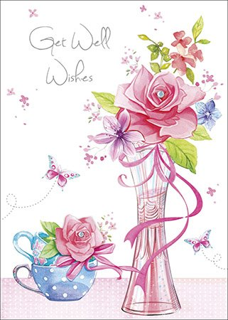 3d Get Well Card Religious Christian A Prayer For Your Recovery