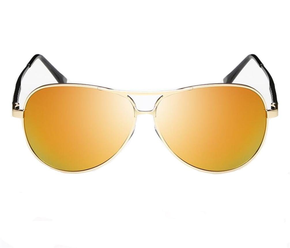 ZHLONG Men es polarisierte Sonnenbrille classic Frosch Gläser , 2