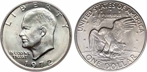 1972 P 40% Silver Ike Eisenhower Dollar (1972 Eisenhower Dollar Coin)