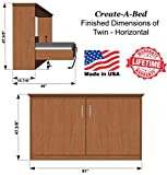 Twin Size Deluxe Murphy Bed Kit, Horizontal
