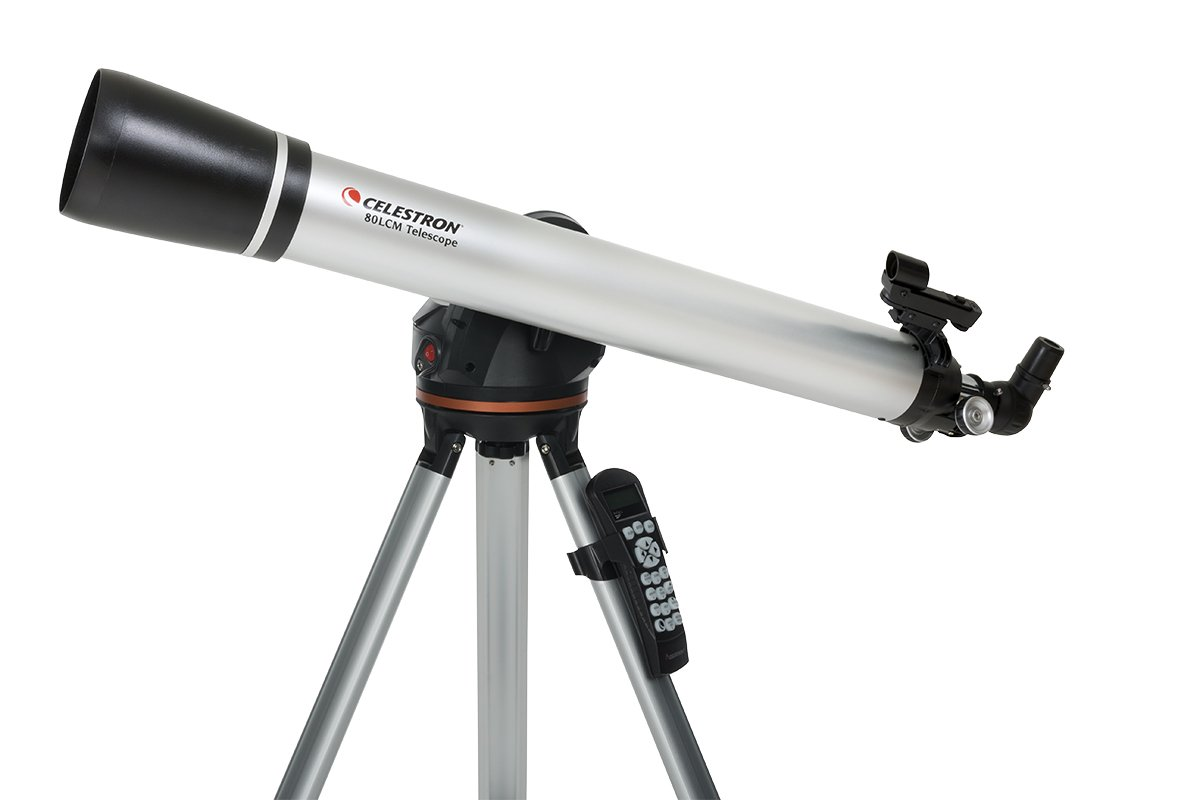 Celestron 80LCM Computerized Telescope (Black) by Celestron
