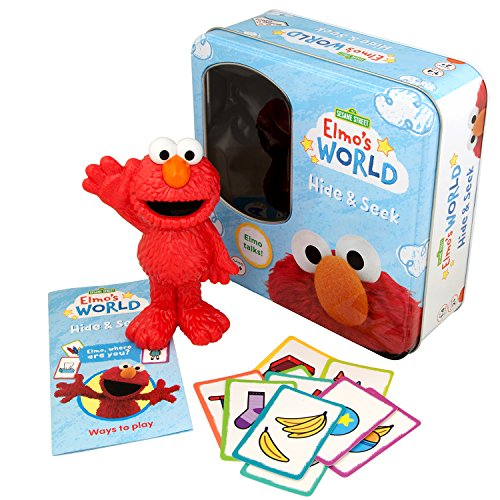 Identity Games Elmo's World Hide and Seek Game - Features Talking Elmo from Sesame Street -