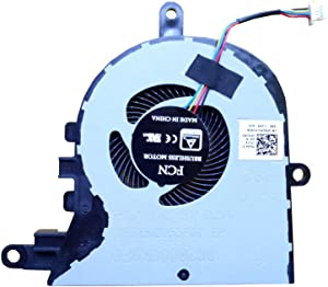 Z-one Fan Replacement for Dell Latitude 3590 L3590 E3590 Inspiron 15 5570 5575 CPU Cooling Fan 0FX0M0 FX0M0 4-Wires 4-pins