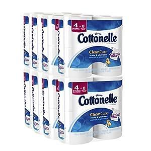 Cottonelle Clean Care Double Roll Toilet Paper 32 Rolls