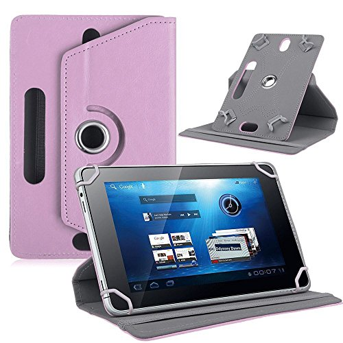 For 10 inch Android Tablet PC, Mchoice Fashion Universal Leather Flip Case Cover for 10 inch Android Tablet PC (Pink)