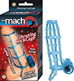 Nasstoys The Macho Vibrating Cock Cage - Blue