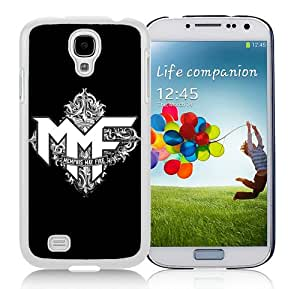 New Unique And Popular Samsung Galaxy S4 I9500 Case Designed With Memphis May Fire logo 1 White Samsung S4 Cover