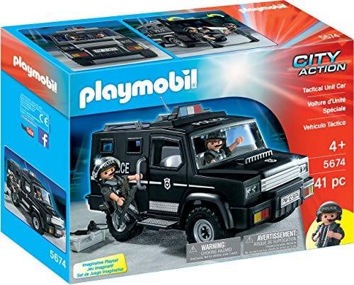 PLAYMOBIL Tactical Unit Car