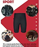 Ursexyly Mens Tights Neoprene Casual Shorts Workout