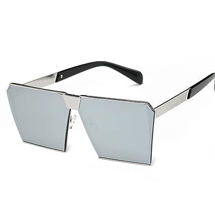 WKAIJC Mode Mode Sonnenbrille Kreativ Bequem Elegant Personalisiert Retro Männer Und Frauen,E