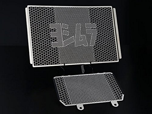 ヨシムラ(YOSHIMURA) ラジエター&オイルクーラーコアプロテクター ステンレス(SUS304) MT-10(17) 454-38E-0000   B074NWBBLX