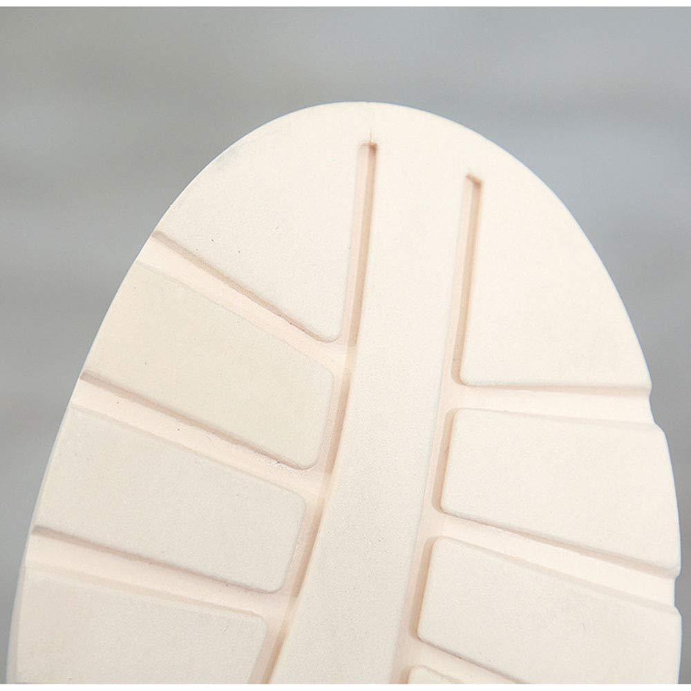 LXIANGP LXIANGP LXIANGP Damenstiefel, Schneestiefel Martinstiefel Frühling und Herbst runde Kopfbänder Wilde Dicke Absatzstiefel Damenschuhe Flache Schuhe für Damen Outdoor-Freizeitschuhe (35EU-40EU)  321cfd