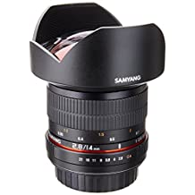 Samyang 14mm F2.8 Ultra Wide Angle Lens for Canon (Black)
