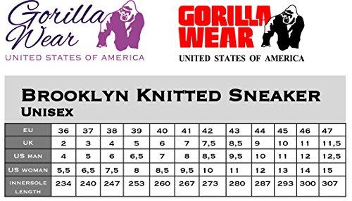 gorilla wear Brooklyn Knitted Sneakers - Neon Mix aqqPmzQi