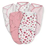 SwaddleMe Original Swaddle 5-PK, Pretty Poppy, Small