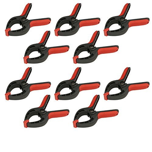 POWERTEC 71018 Mini Spring Clamps Set- 10 Piece
