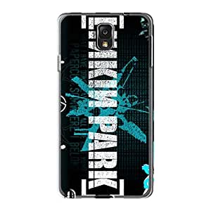 Samsung Galaxy Note3 YXO3444vcGN Allow Personal Design Lifelike Linkin Park Band Pictures Protector Hard Phone Covers -CharlesPoirier