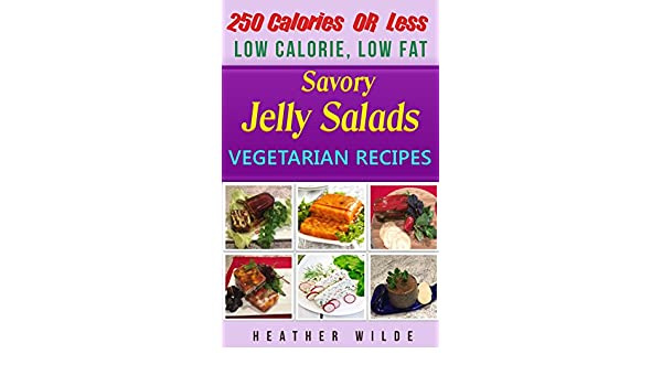 low calorie low fat vegetarian portable jelly salad lunches 250