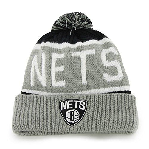 fan products of NBA Brooklyn Nets Calgary Cuff Knit Hat, One Size, Black