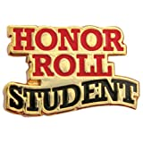 Set of 100 Lapel Pins - Honor Roll Student