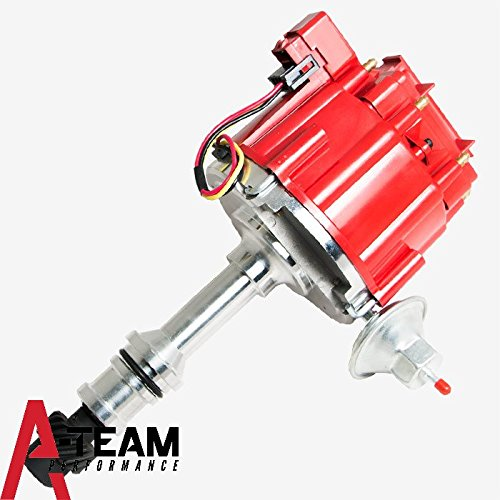 A-Team Performance Small Block/Big Block 65K COIL HEI Complete Distributor Compatible With Oldsmobile 260 307 330 350 400 403 425 455 1-Wire Instillation (Oldsmobile Big Block)