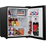 Galanz 2.7 cu ft Reversible Single Door Refrigerator, Black