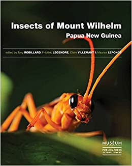 Book Insects of Mount Wilhelm, Papua New Guinea