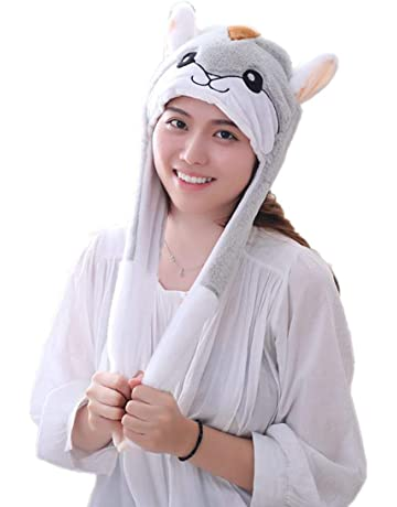 ad570dc82aa HYYER Funny Plush Animal Hat Cap Party Gift Halloween Christmas Novelty  Party Dress up Cosplay