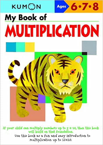 Worksheets Kumon Multiplication Worksheets my book of multiplication kumon workbooks amazon co uk publishin 9781934968109 books