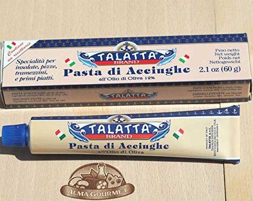Italian Anchovies Paste in Olive Oil Tube 60 Gram