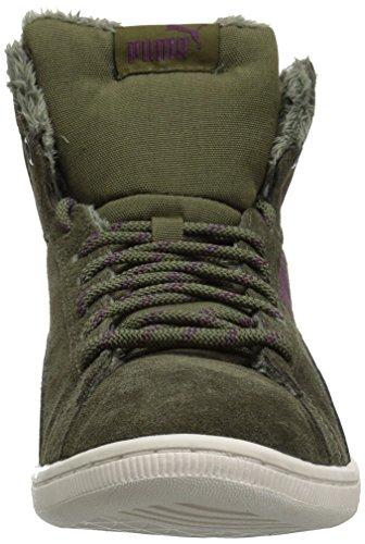 Night olive Mid Sneaker Night Olive Women's PUMA Vikky Corduroy qxE0Z8O