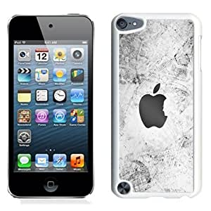 Fashionable Custom Designed iPod Touch 5 Phone Case With Thank You Steve Apple Logo_White Phone Case Kimberly Kurzendoerfer