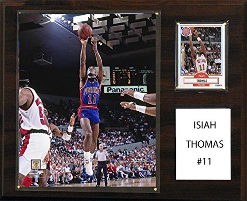 C&I Collectables NBA Detroit Pistons Isiah Thomas Player Plaque, 12 x 15-Inch