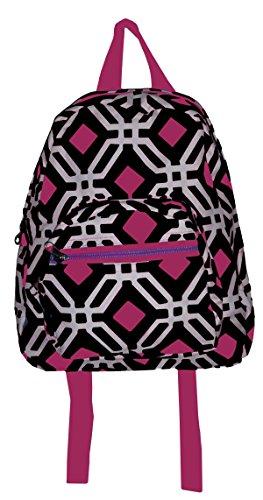 California Chevron School Travel Backpack