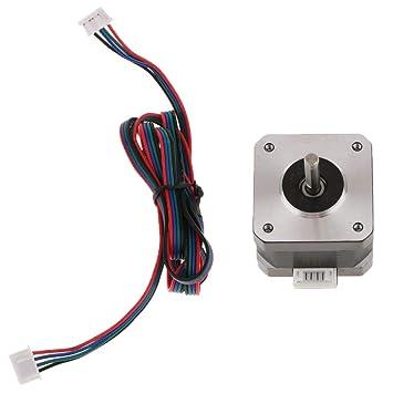 Homyl Motor Paso A Paso 42 1.68A 0.3Nm/2.8V Pieza de Impresora 3D ...