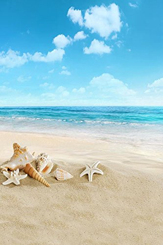 GladsBuy-Cute-Beach-6-x-9-Computer-Printed-Photography-Backdrop-Seaside-Theme-Background-S-537