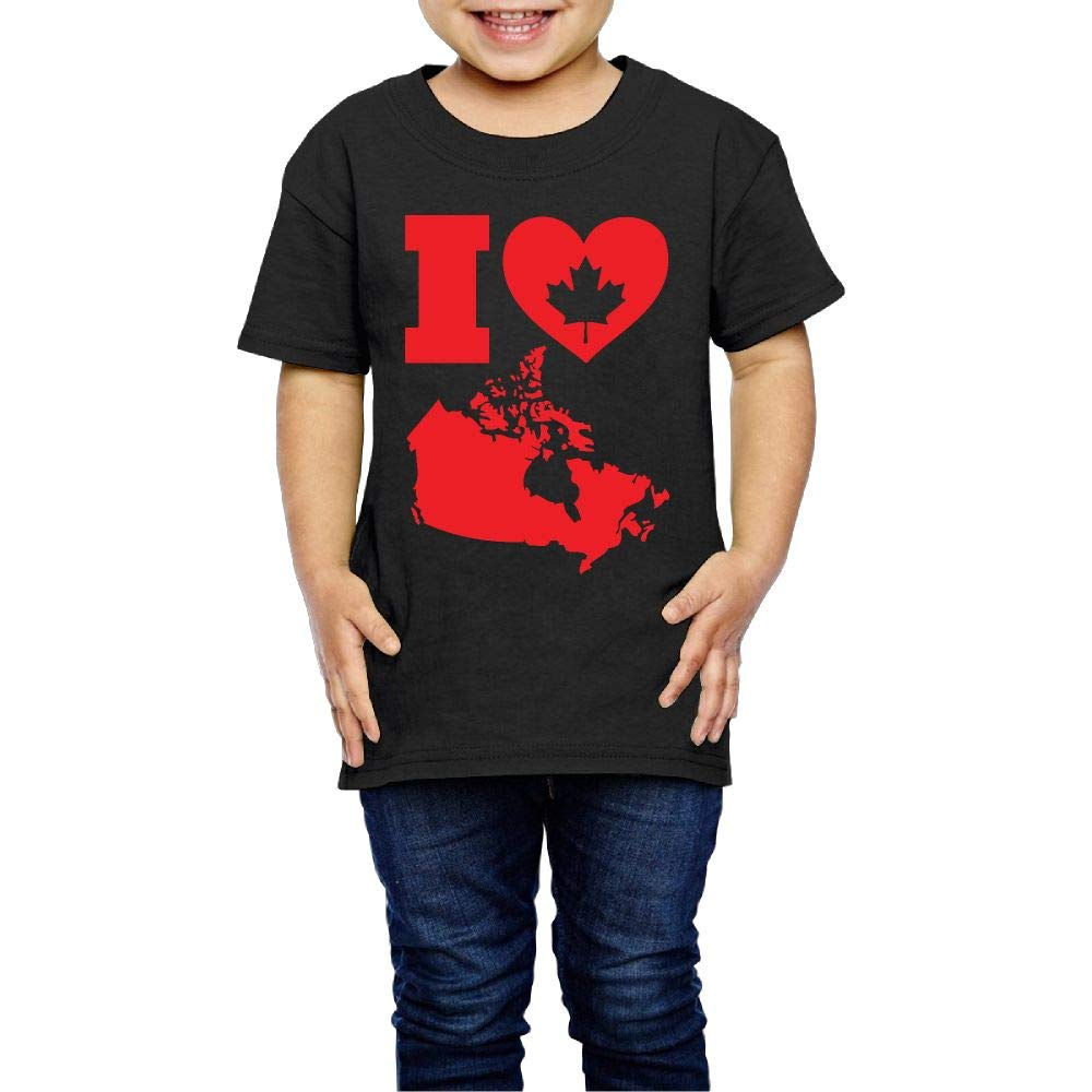 Love Canada 2-6 Years Old Child Short-Sleeved Tshirts