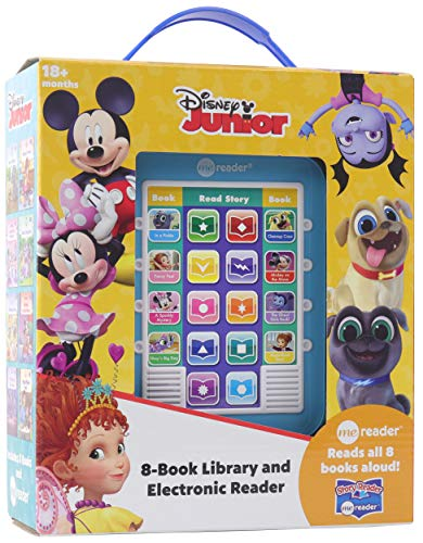 Disney Junior Mickey Mouse Clubhouse, Puppy Dog Pals and More!- Me Reader Electronic Reader and 8-Book Library - PI Kids Hardcover – January 7, 2020