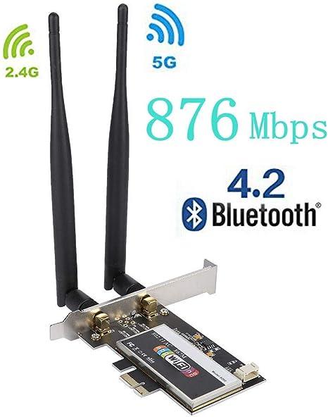 PCI-E Desktop Network Card Wireless WiFi Adapter Intel 8260AC 802.11ac 867Mbps