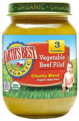 Earths Best Organic Vegetable Ingredients